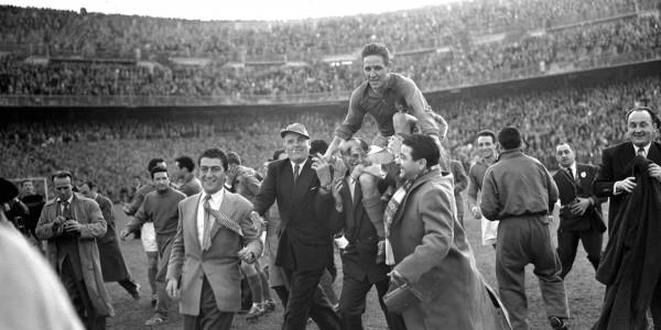 Espagne-France 1955 Kopa