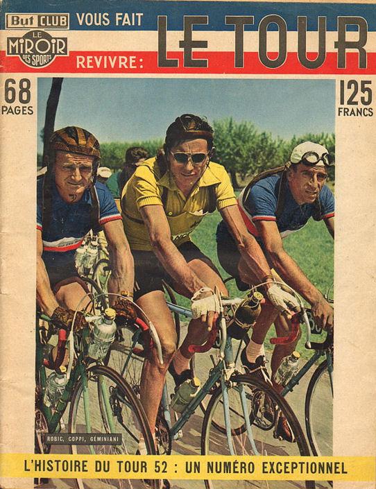 Robic blog Couverture Histoire du Tour 1952