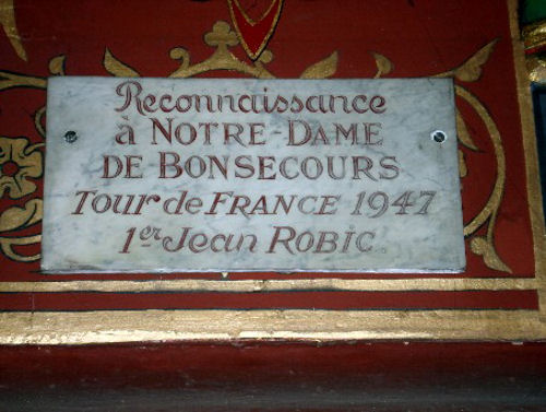 Robic blog ex voto Bonsecours