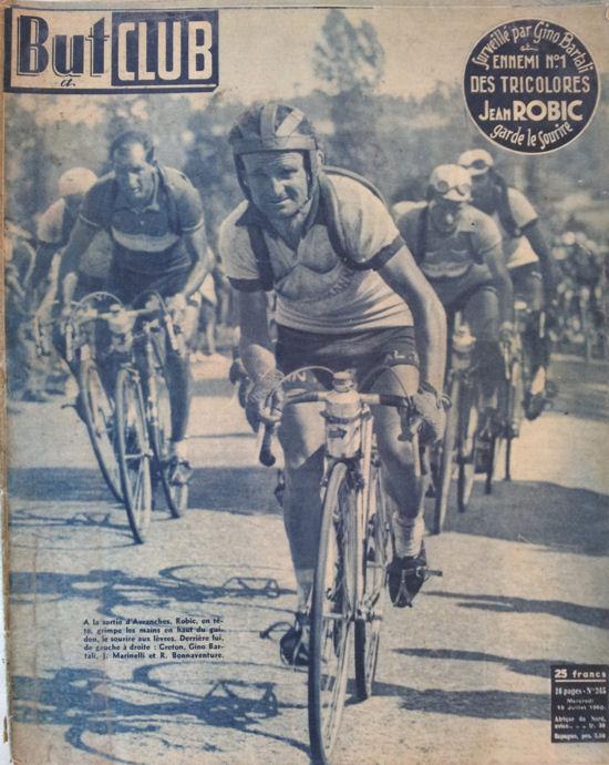 Robic blog Tour 1950  avec Bartali