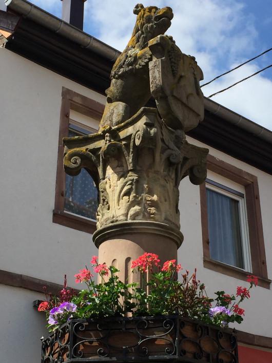 Heiligenstein fontaine