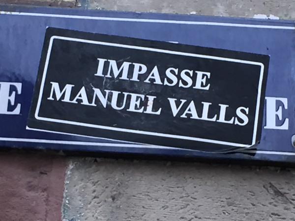 Impasse Manuel Valls 2