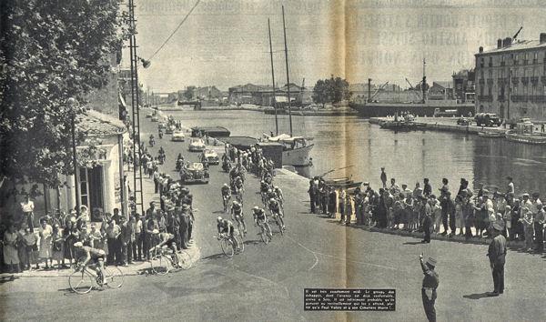 Tour 1957 à Sète blog
