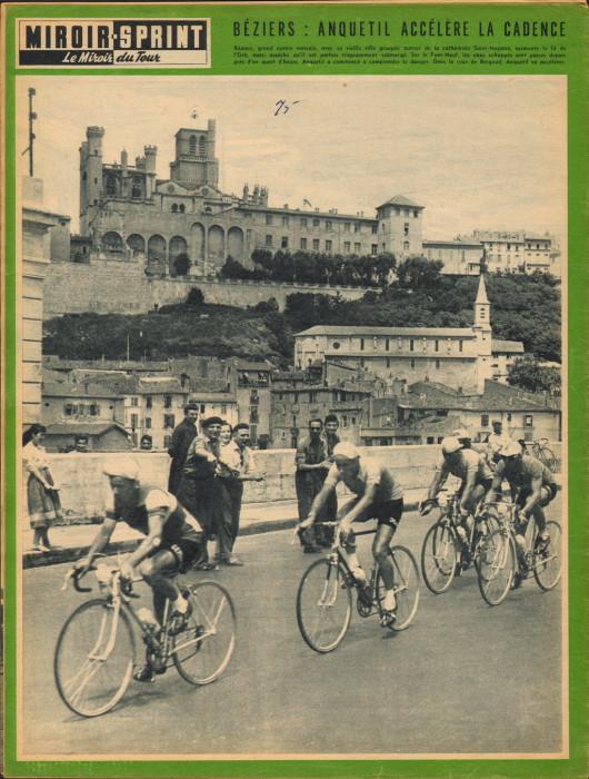 Tour 1957 Alès-Perpignan Béziers