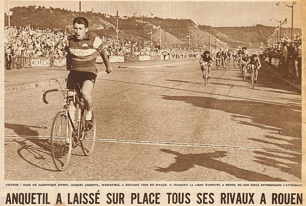 Tour 1957 Anquetil à Rouen blog 2