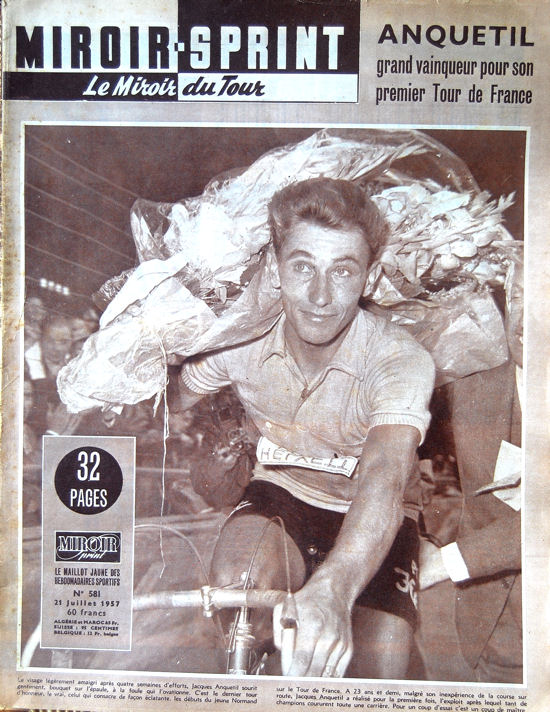 Tour 1957 Anquetil au Parc blog1