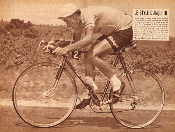 Tour 1957 Anquetil clm le style blog