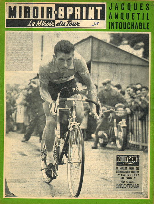 Tour 1957 Anquetil clm Libourne blog