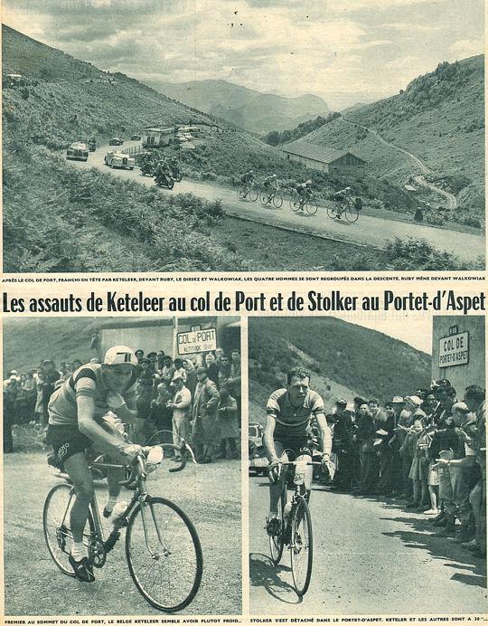 Tour 1957 Ax-St-Gaudens Port et Portet d'Aspet blog