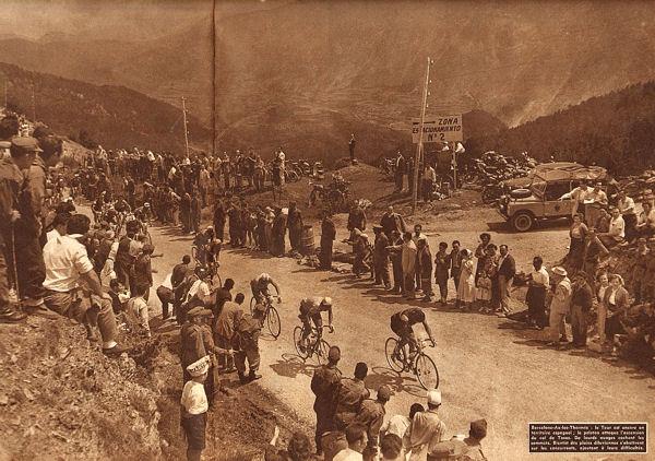 Tour 1957 Barcelone-Ax col de Tosas blog 1