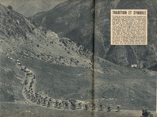 Tour 1957 Briançon-Cannes Allos blog