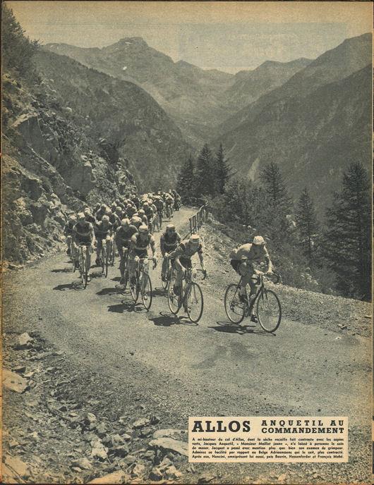 Tour 1957 Briançon -Cannes blog 1