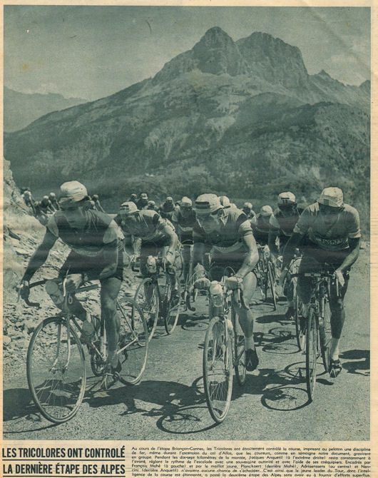 Tour 1957 Briançon-Cannes blog 5