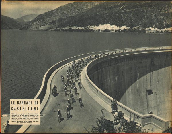 Tour 1957 Briançon-Cannes Castellane