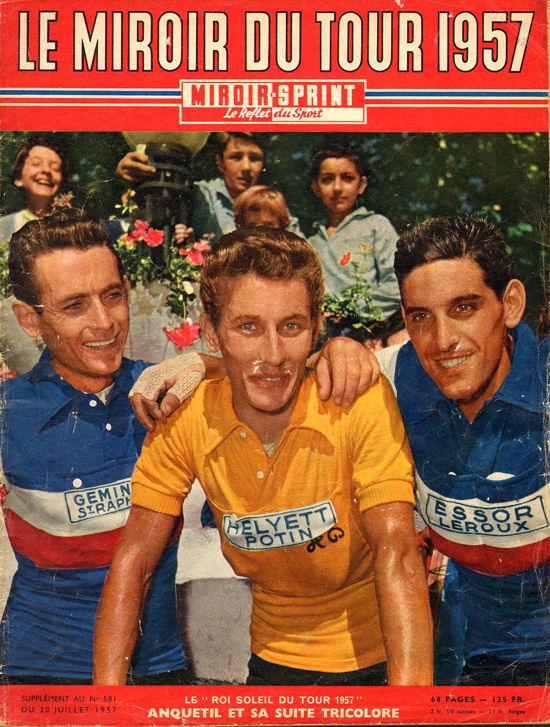Tour 1957 couverture Miroir Sprint après tour blog