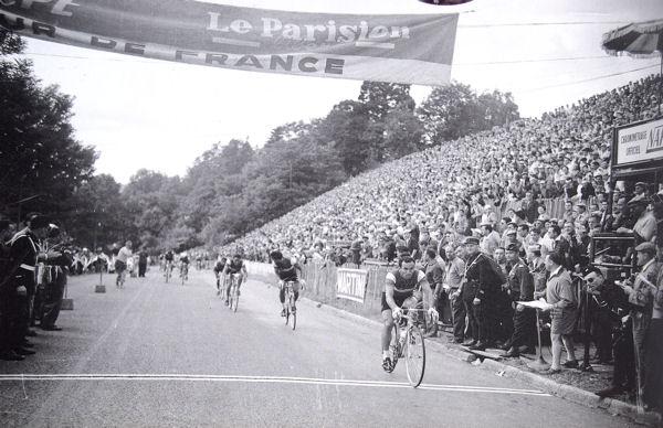 Tour 1957 Defilippis à Saint-Gaudens