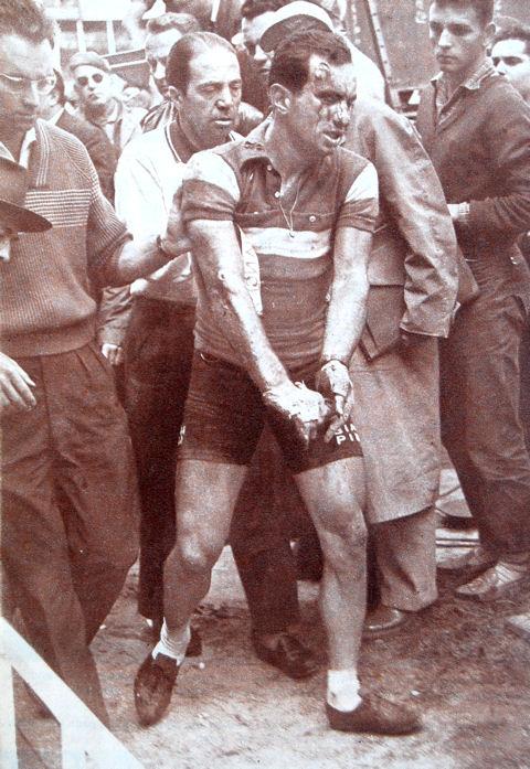 Tour 1957 Defilippis au Parc