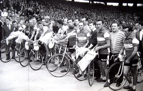 Tour 1957 équipe de France au Parc blog
