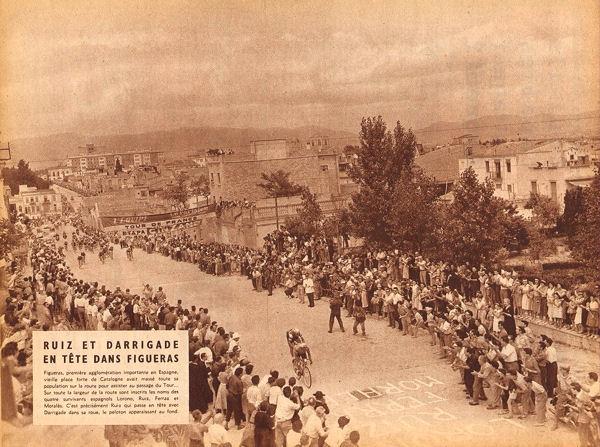 Tour 1957 Figueras lle entre Perpignen et Barcelone blog