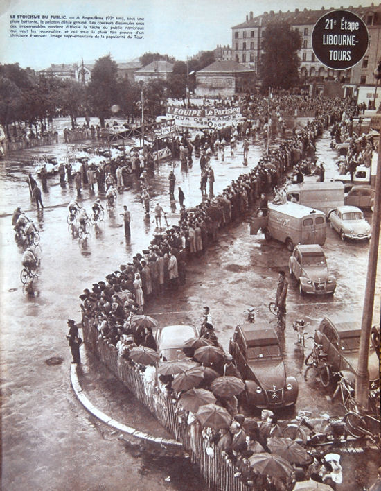 Tour 1957 Libourne-Tours Angouleme blog