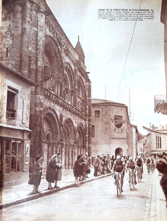 Tour 1957 Libourne-Tours Civray blog