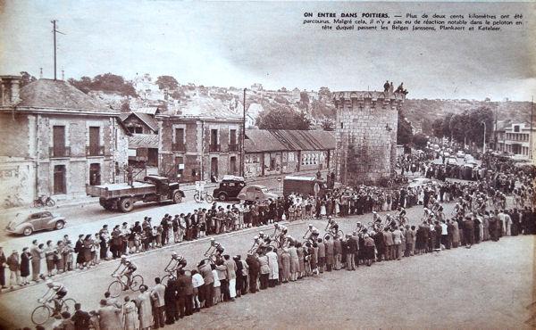 Tour 1957 Libourne-Tours Poitiers blog