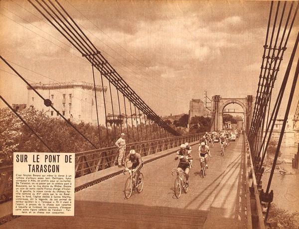 Tour 1957 Marseille-Alès pont Tarascon blog