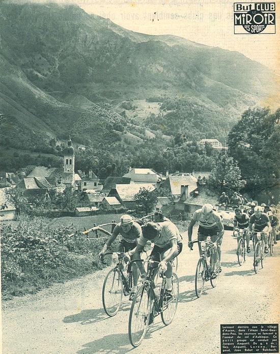 Tour 1957 St-Gaudens-Pau après Aucun dans Aubisque blog