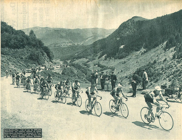 Tour 1957 St-Gaudes-Pau après Ste Marie de Campan blog