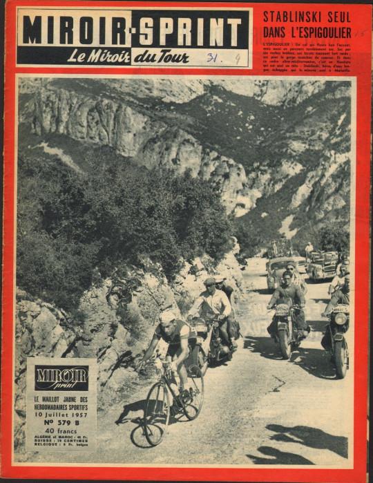 Tour 1957 Stablinski Cannes-Marseille
