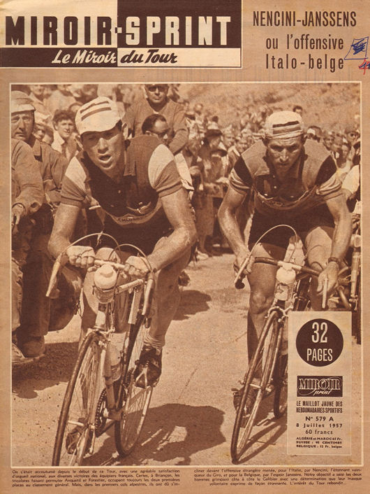 Tour 1957 Thonon-Briançon blog 1