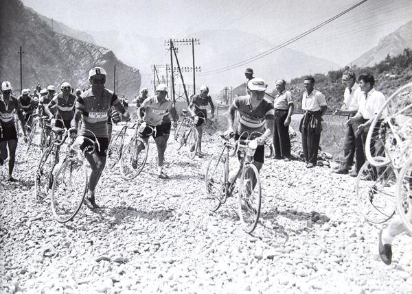 Tour 1957 Thonon-Briançon  caillasse blog