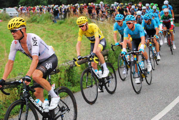 Tour 2017 Col des Ares Froome blog 1