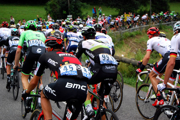 Tour 2017 Col des Ares peloton blog 5