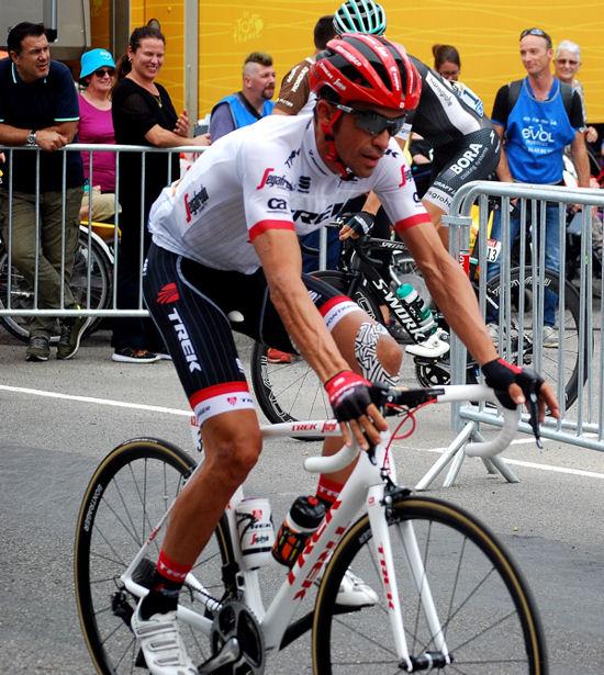 Tour 2017 St-Girons Alberto Contador blog 2