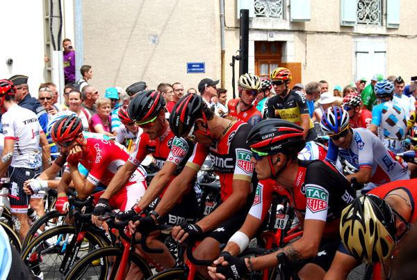 Tour 2017 St-Girons avant le départ blog