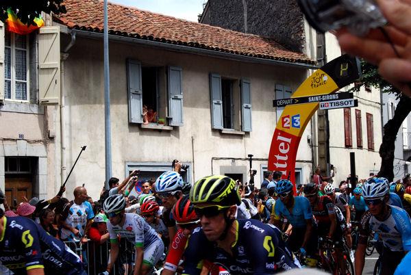 Tour 2017 St-Girons C'est parti blog