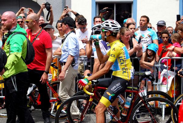 Tour 2017 St-Girons départ Aru blog
