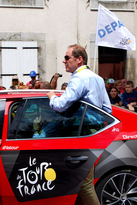 Tour 2017 St-Girons départ Prudhomme  blog
