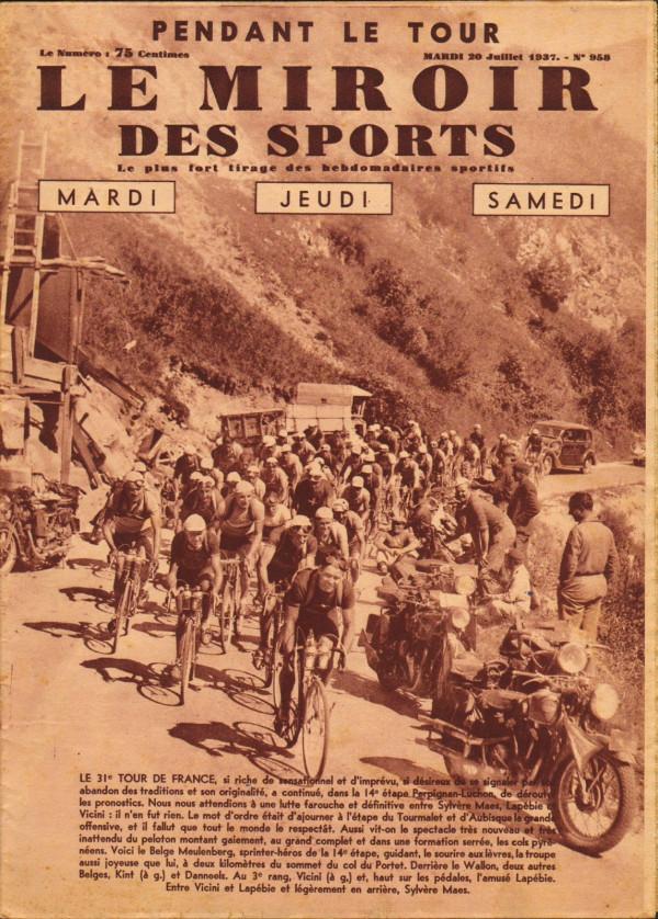 1937-07-20 - Miroir des Sports - N° 958 - 01