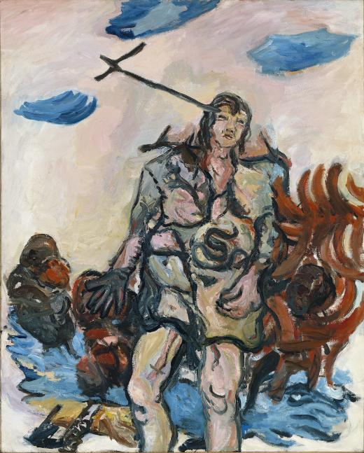 Baselitz-the-shepherd-1965