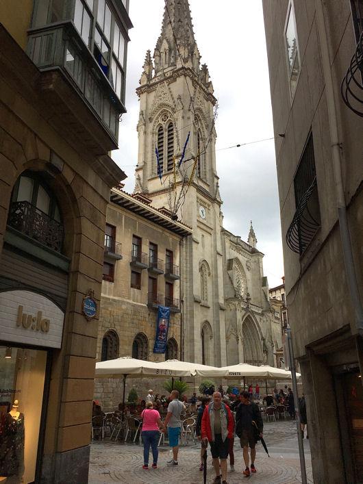 Bilbao cathédrale Santiago blog 1
