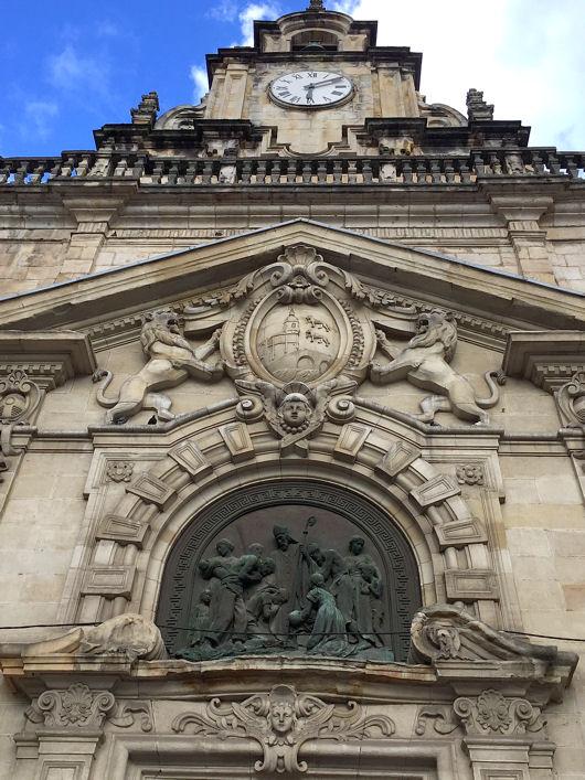 Bilbao église San Nicolas blog2