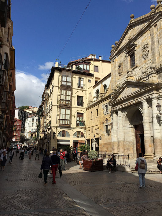 Bilbao église Santos Juanes blog 2