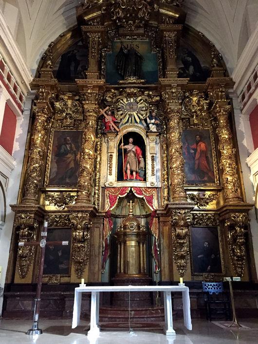 Bilbao église Santos Juanes blog 3