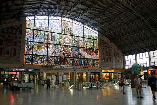 Bilbao gare d'Abando blog