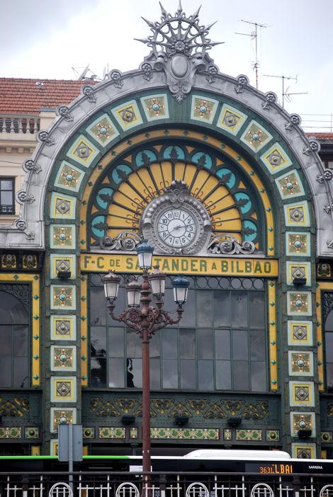 Bilbao Gare de Santander blog2