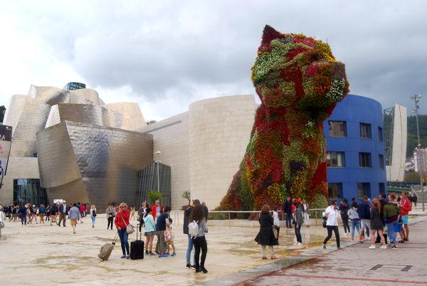 Bilbao Guggenheim ext blog 7