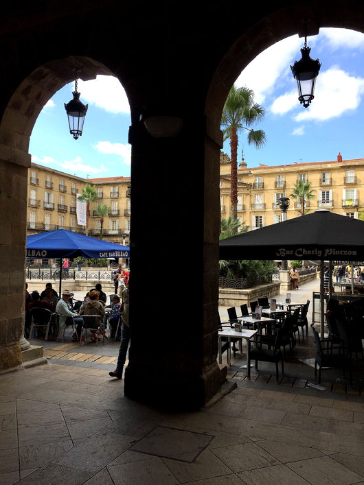 Bilbao Plaza Nueva blog 2