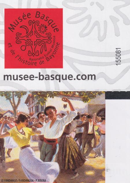Billet musée basque Bayonne 2